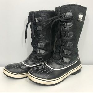 Women's Sorel Tivoli High Boot Black Waterproof